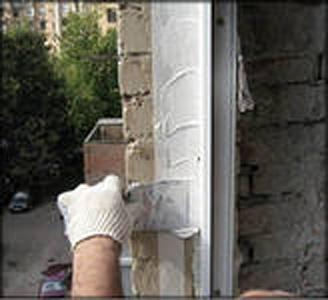 Расход пены на герметизацию панельных стыков