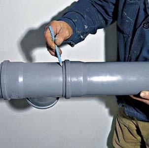Герметизация стыков труб