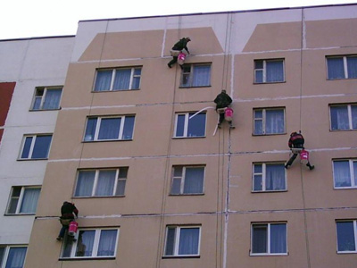 Заделка потолочных швов в панельных домах