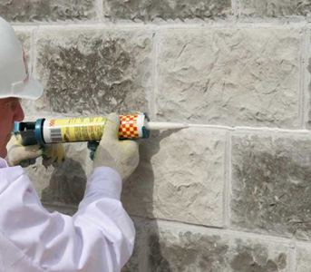 Герметизация шва дерево бетон