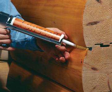 Заделка швов в деревянном доме